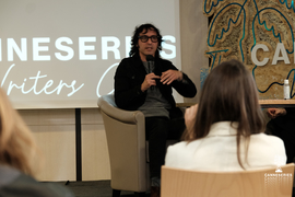 The CANNESERIES Writers Club - Talk with Amir Chamdin